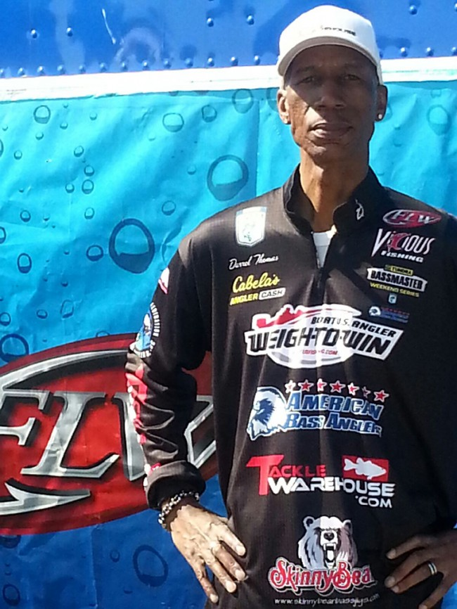 Me after the Lake Texoma EverStart weigh-in - Copy