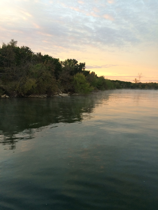Squaw Creek main lake point